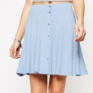 [ASOS] skirt with poppers